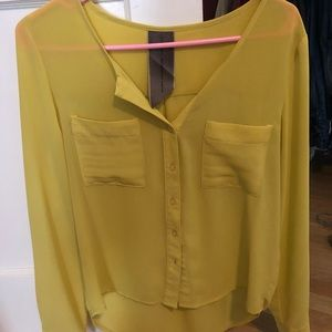 Tops - Chartreuse Blouse